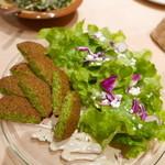 ミシュミシュ - 野菜だけのコロッケ(ファラフェル)