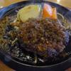 勝牛 - 料理写真:ハンバーグセットのハンバーグ