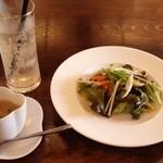 ピオッポ - ランチ・スープ&サラダ&ドリンク
