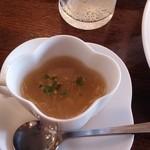 ピオッポ - ランチ・オニオンスープ:濃厚!