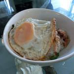 隠れ家カフェ清ちゃん - ルーローファン台湾豚バラ煮込み丼(ハーフサイズ)380円