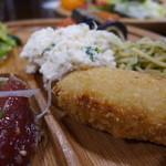 森の家庭料理レストラン - 芋の旨さがダイレクト。