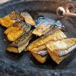 森の家庭料理レストラン - 御縁の鯖。これもティアのもの。