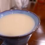 森の家庭料理レストラン - お米のジュース(甘酒)。