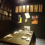 九州 熱中屋 - 半個室的な空間