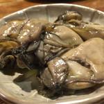 かぶいて候 - 牡蠣のオイル漬け。美味です。