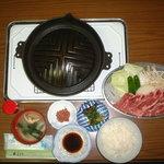 ジンギスカン・シロー - 料理写真:ジンギスカン特上定食1944円