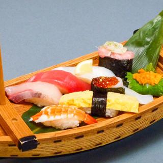 誕生月にはお店からお寿司のプレゼント♪