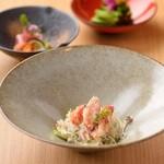 和酒和食 みつくら - 毛蟹のサラダ