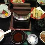 さかなや道場 茂原東部台店 - 釜飯御膳1580円