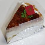 イチゴ屋けんちゃん&モントロー - 料理写真:紅茶とリンゴのブュルレケーキ