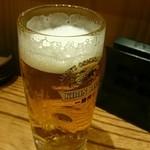 Okaichi - まずはビールを一杯‼
