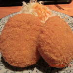 ろばた焼司 - コロッケ定食 (コロッケ)