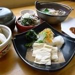 まるひで食堂 - ゆば御膳(梅)