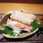栞庵 やましろ - 兵庫県ずわい蟹の雌  内子と味噌、身、外子   兵庫県ずわい蟹の雌  身