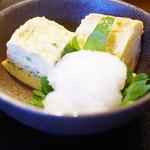 大森 茶々 - 釜揚げしらすと桜海老のだし巻き卵ハーフ