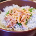 大森 茶々 - 桜海老しらす飯