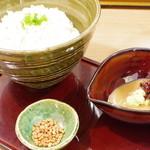 鯛塩そば 灯花 - 鯛茶漬けセット