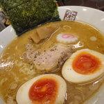 煮干しらーめん 玉五郎 - 玉子ラーメン780円