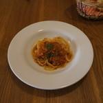 トラットリア ポルチェリーノ - パンもあります