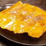 餃子の安亭 - チーズ羽根付き餃子