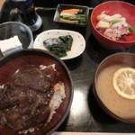 大和牛 丼の店 件 - 料理写真:大和牛丼定食
