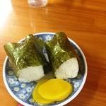 大雅ラーメン - おにぎり(170円)