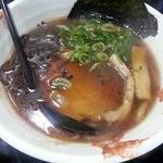 かねもり - 料理写真:ガラ醤油ラーメン(半麺)