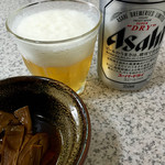 道蕎麦 - 12.13 ビールとあて。
