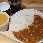 45482725 - カレーとスープのセット(¥1200)