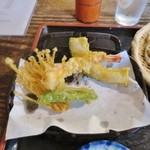 ことぶき - 再訪:天ぷら