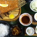 45483571 - ロースカツ定食(200g)