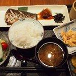 澄仙 - 焼魚定食(鰆)1,000円