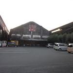 マルキン醤油記念館 売店 - 歴史感じる工場