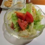 シロオビ - サラダ
