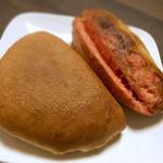 麦匠 - カンツォーネ180円明太フランス140円