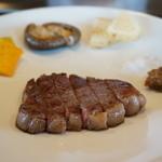 ステーキ・鉄板料理和かな - 黒毛和牛のステーキと焼き野菜