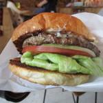 45486110 - 定番のハンバーガー