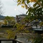 45488185 - 窓から鴨川が見えます