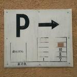 新たうどん - 駐車場