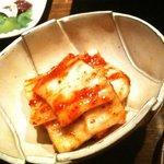 柳橋もつ元 - 白菜キムチ