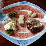 鮨処みつや - 料理写真:前菜