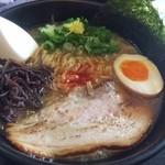麺次郎 - トリ白湯ラーメン 850円