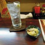 居酒屋 鳥八 - チューハイ280円