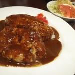 メルカート - 料理写真:ハンバーグカレー