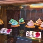 ON THE WAY, Cupcakes&Coffee Shop  - ショーケース