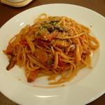 碓氷テラス - 料理写真:妙義茸のナポリタンスパゲッティー