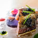 タストゥー - サンマのスモークとジャガイモサラダ