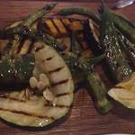 45497405 - 地野菜の炭焼きグリル