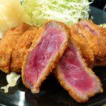 牛カツ京都勝牛 - 牛サーロインカツ京玉膳(大160グラム)1,580円(税別)